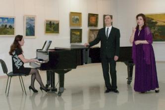 №48. Концерт на открытие выставки Николая Егорова (дуэт с Владимиром Егоровым)