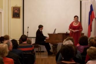 45. Concert at the Embassy of Strasbourg (France, 2016)