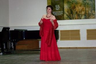 49. At the anniversary concert of Zinaida Kozlova (Cheboksary, Russia, 2016)