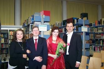 10. With Tatiana Lukina, Antonio Mansolillo, Arthur Medvedev (Munich, Germany, 2016)