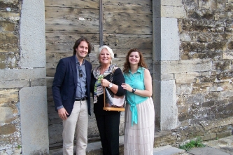 5. With Luciana Serra and Paolo Bianchi (Italy, Montalto Ligure (IM), 2013)