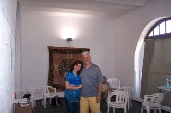 6. With Delfo Menicucci (professor of the Milan Conservatory) (Italy, Montalto Ligure (IM), 2013)