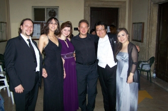 8. After the gala concert (Italy, Monterotondo (Rome), 2014)