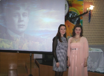 9. With the accompanist M. N. Razumova (Cheboksary, Russia, 2016)